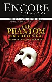 hennessy lexus atlanta hours october 2014 the phantom of the opera at the fox theatre by