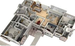 software design layout rumah denah desain rumah minimalis modern 4 kamar tidur 3d 3 proyek