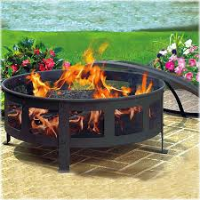 Wood Firepits Cobraco Bravo Steel Wood Burning Pit Reviews Wayfair