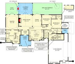 house plans with inlaw apartment house plan with in apartment option 12271jl