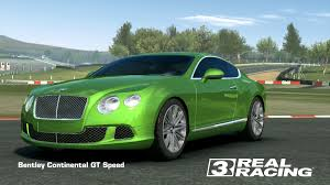 green bentley bentley continental gt speed real racing 3 wiki fandom powered