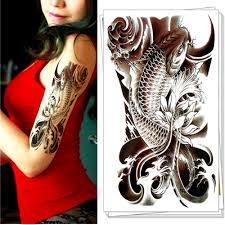 carp fish tattoo online buy wholesale fish tattoo art from china fish tattoo art
