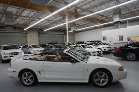 1998 convertible mustang 1998 ford mustang svt cobra 2dr convertible in fresno ca