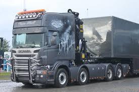 scania trucks stunning scania v8 airbrush truck loud pipe nordic