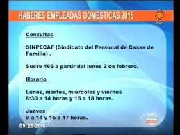 aumento el salario para empleadas domesticas 2016 en uruguay haberes de empleadas domésticas 2015 youtube
