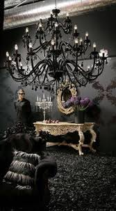 Black Chandelier Dining Room Black Chandelier The Drama Exactly What I Want For The
