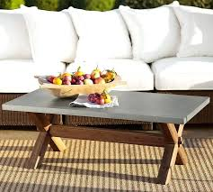 pottery barn concrete table best 25 concrete coffee table ideas on pinterest making concrete top