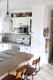 above kitchen cabinet storage how to build open shelving above cabinets for custom look open
