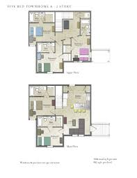 5 Bedroom Floor Plans 2 Story Great Floorplans Of Apartments In Flagstaff Fremont Station