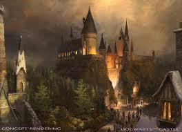 universal studios hollywood wwohp hogwarts castle rendering