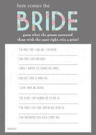 bridal shower question bridal shower question groom 99 wedding ideas
