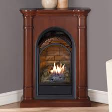 creative direct vent corner gas fireplace home interior design