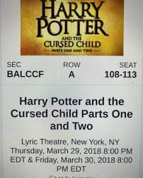 ticketmaster verified fan harry potter harrypotteronbroadway hashtag on twitter