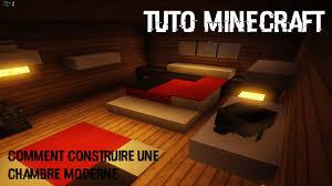 comment faire une chambre minecraft tutoriel minecraft comment faire une chambre moderne