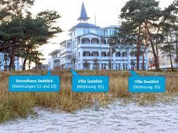 strandhaus seeblick binz ferienwohnung 13 in ostseebad binz