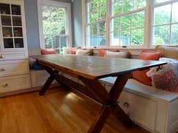 concepts created cross leg trestle tables reclaimed wood