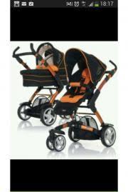abc design kombikinderwagen 3 tec abc design 3 tec kinderwagen kombikinderwagen schwarz orange in