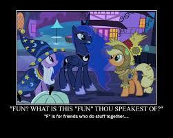Mlp Luna Meme - princess luna motivational by crossoverprincess on deviantart