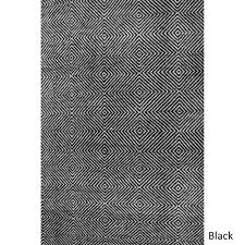 nuloom nuloom handmade concentric diamond trellis wool cotton rug