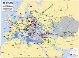map eroupe proposed european crude pipelines map europe mappery