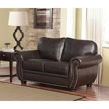 Leather Sofa Bed Abbyson Richfield 4 Piece Premium Top Grain Leather Sofa Loveseat