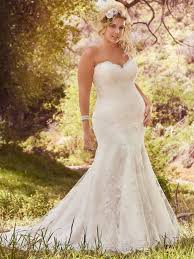 plus size fit and flare wedding dress plus size wedding dresses maggie sottero maggie sottero wedding