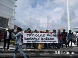 Krs Umy Kus Jogja Mahasiswa Tolak Pungutan Muktamar Jogjapolitan