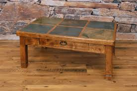 san juan 3x2 slate coffee table new arrivals back at the ranch