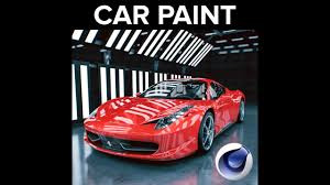 Car Paint by New Motion Squared Car Paint For Cinema 4d Is Now Available