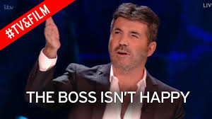 Simon Cowell Meme - somebody s getting fired furious simon cowell shouts at crew
