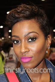 shortcut for black hair how to maintain short relaxed hair