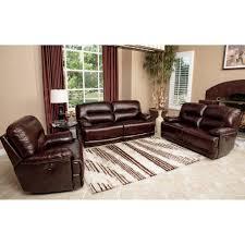 3 piece sofa set abbyson living sk 1300 brn 3 2 1 rio 3 piece power reclining hand
