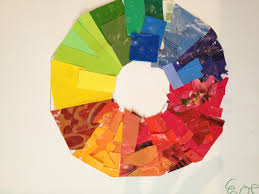 the governor u0027s daughter art color wheel collage