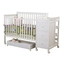 sweet dreams hayden 4 in 1 crib changer combo in white