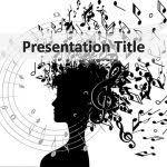 powerpoint template music theme free gavea info