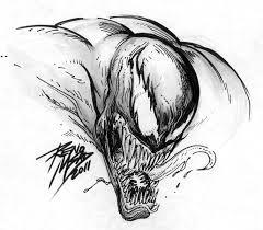 venom sketch by renomsad on deviantart