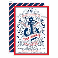 nautical baby shower invitations nautical baby shower invitation pipsy