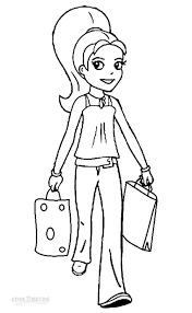 printable polly pocket coloring pages kids cool2bkids