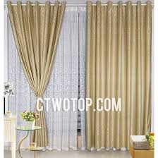 patterned chic best modern gold faux silk curtains curtains