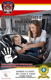 si e auto safety child car safety in only ville de sutton town of sutton