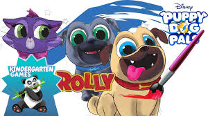 coloring pages for kids puppy dog pals disney junior youtube