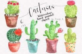 cactus pot clipart photos graphics fonts themes templates