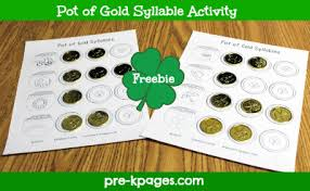 st patrick u0027s day literacy activities