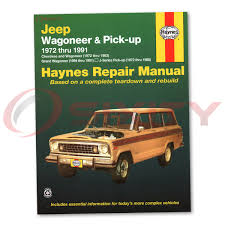 jeep chief 1979 jeep cherokee haynes repair manual wide track chief s base pioneer
