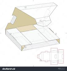 gable box with window hanging panel carton box template with window design tutorials