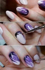 41 super easy nail art ideas for beginners galaxy nails tutorial