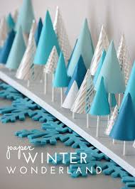 Winter Party Decor - thread different sized cotton balls on invisible thread to bring