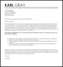 Best Resume Format For It Engineers by Application Engineer Resume Field Engineer Cover Letter