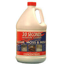 Lowes Concrete Walkway Molds by Shop 30 Seconds Outdoor Cleaner 1 Gallon Moss And Algae Cleaner At
