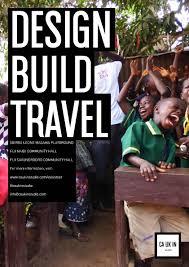 design build magazine uk volunteering opportunity caukin studio s design build travel